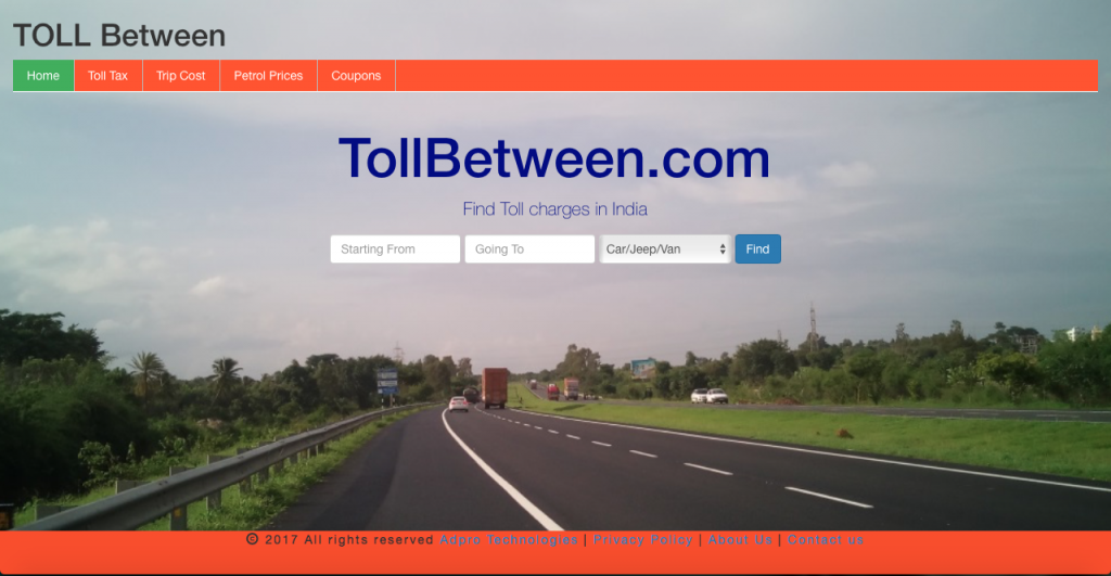 TollBetween.com